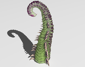 3D Worm tentacle