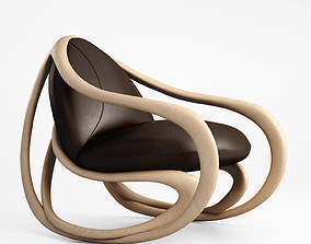 Giorgetti Move armchair 3D model