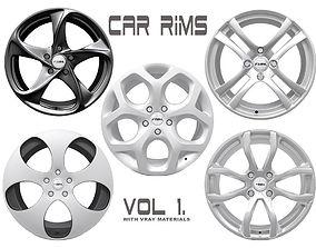 3D model Car Rims - VOL 1