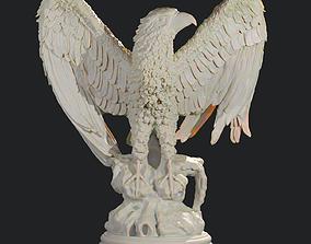sculptures Eagle 3D print model