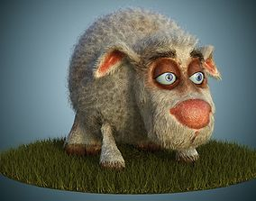 Sheep Dog for production render in Vray 3D