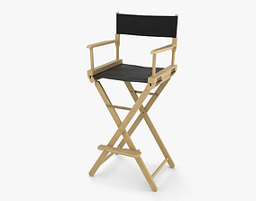 cinema Director Chair 3D model