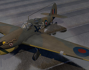 3D model Hawker Henley Mk-1