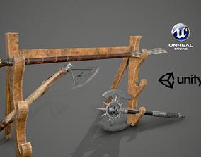 3D model Weapon Market 04