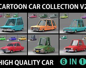 Cartoon Car Collection V2 3D