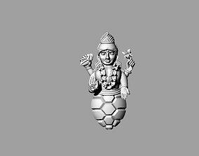 3D printable model kurma bhagwan