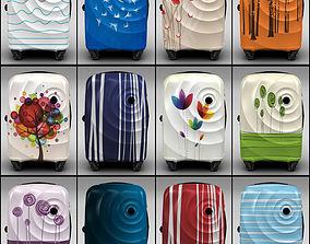 Trolley Suitcase Bag 3D