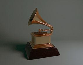 Grammy award 3D print model
