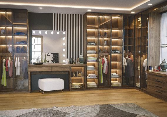 Dressing Room - Private dressing for men
