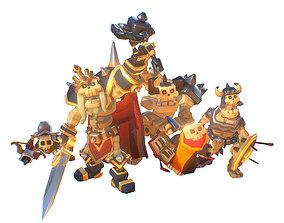 3D asset Skeleton Crew - Smashy Craft Series