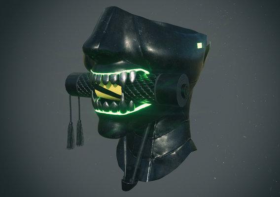 Japanese Demon Mask