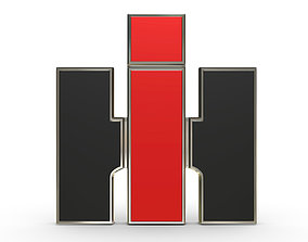 international harvester logo sumbol 3D model