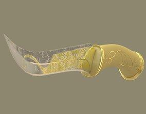 3D model Legolas dagger