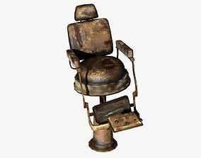3D asset Barbershop Torture Chair