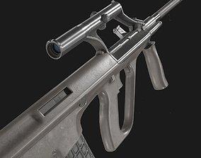 AUG A1 Assault Rifle 3D asset
