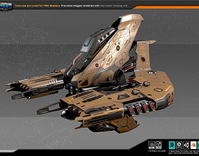 SF DRAKX Dreadnought DK2 3D asset realtime