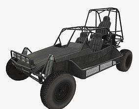 3D asset VR / AR ready Desert Patrol Vehicle