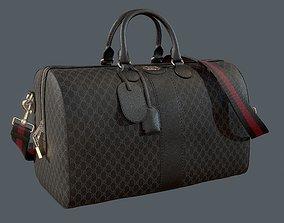 Gucci Ophidia GG Black medium travel duffle bag 3D model