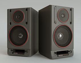 3D asset Acoustic system Vega - 35AS-105-1