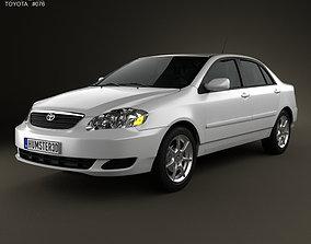3D model Toyota Corolla E120 2005
