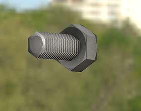 Low-Poly Screw 1 - Object 93 3D model