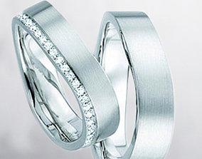 3D printable model Wedding rings 234