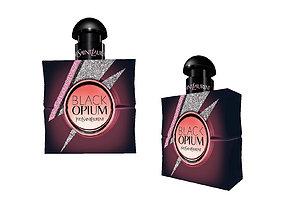 Black opium YSL - perfume bottle 3D asset