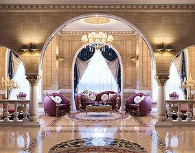 room Classic Interior Scene 3D