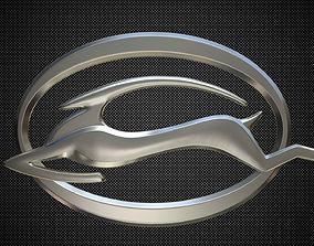 sumbol 3D model impala logo