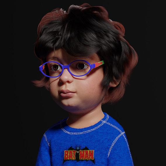 3d modeling for a boy kid
