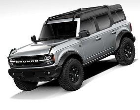 Ford Bronco Wildtrak 4door 2021 3D