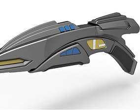 3D Romulan Disruptor Rifle from Star Trek Deep Space