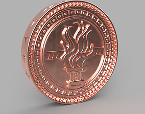 Tussent coin for the game Gwent Witcher 3D print model