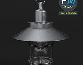Hanging bulkhead lamp 3D model