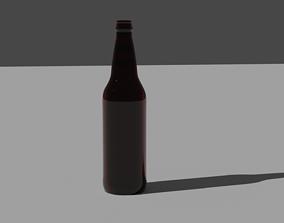 Beer Bottle empty 3D
