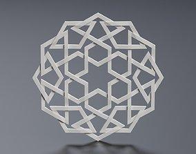 Geometric Ornament 3D model