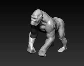 gorilla monkey 3D printable model