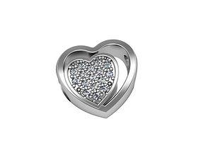 Bead Pandora hearts tandem 3D print model