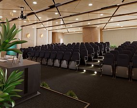 Lecture Hall Design 3D