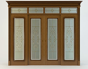 3D Doors with stained glass 1