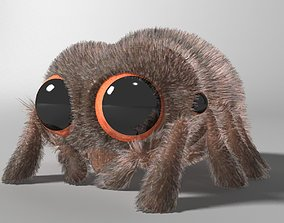 3D model Cartoon Spider Rigged