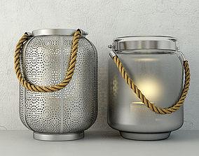 Lanterns by ZARA HOME 3D model eco