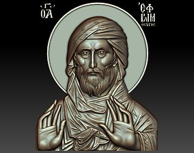 3D model Saint Ephraim the Syrian