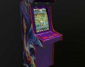 3D asset Arcade Machine