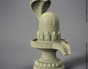 Shivling lord shiva ling 3d printable model