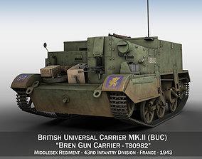Bren Gun Carrier - BUC - T80982 3D model