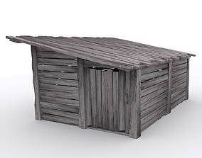 3D asset ShackHouse 1