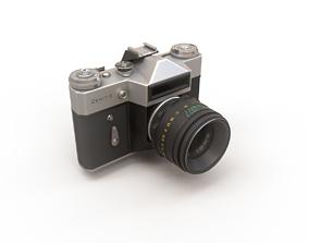 USSR camera ZENIT-E 3D asset