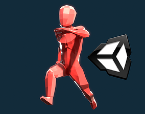 3D asset Runner animations pack