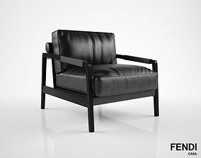 3D Fendi Casa Kathy armchair